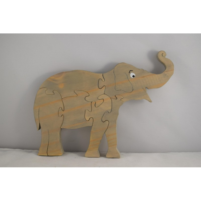 Wooden Elephant Puzzle or...