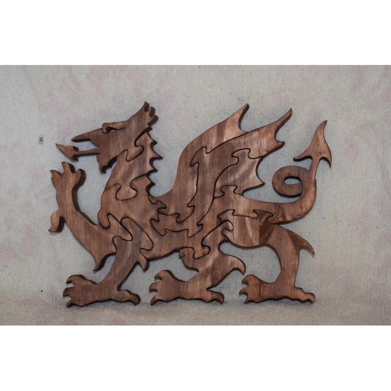 Wooden Welsh Dragon Puzzle...