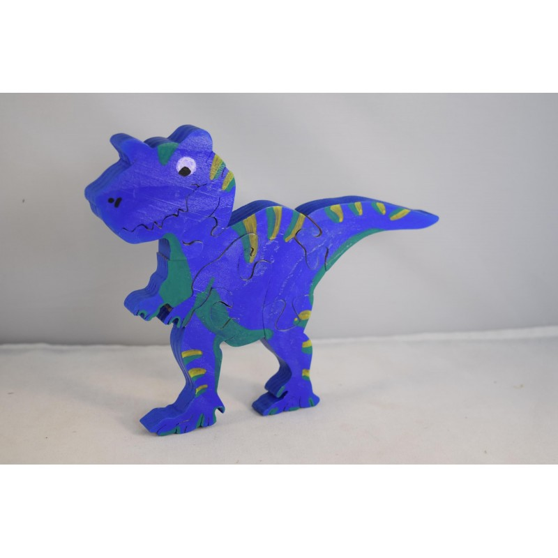 Wooden dinosaur puzzle or...