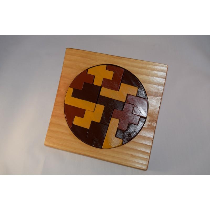 Puzzle Arondi en bois