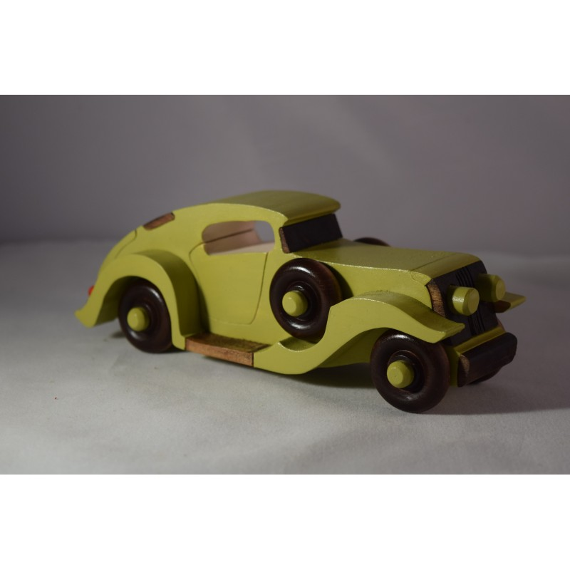 Wooden 1930 Torpedo Coupe Car