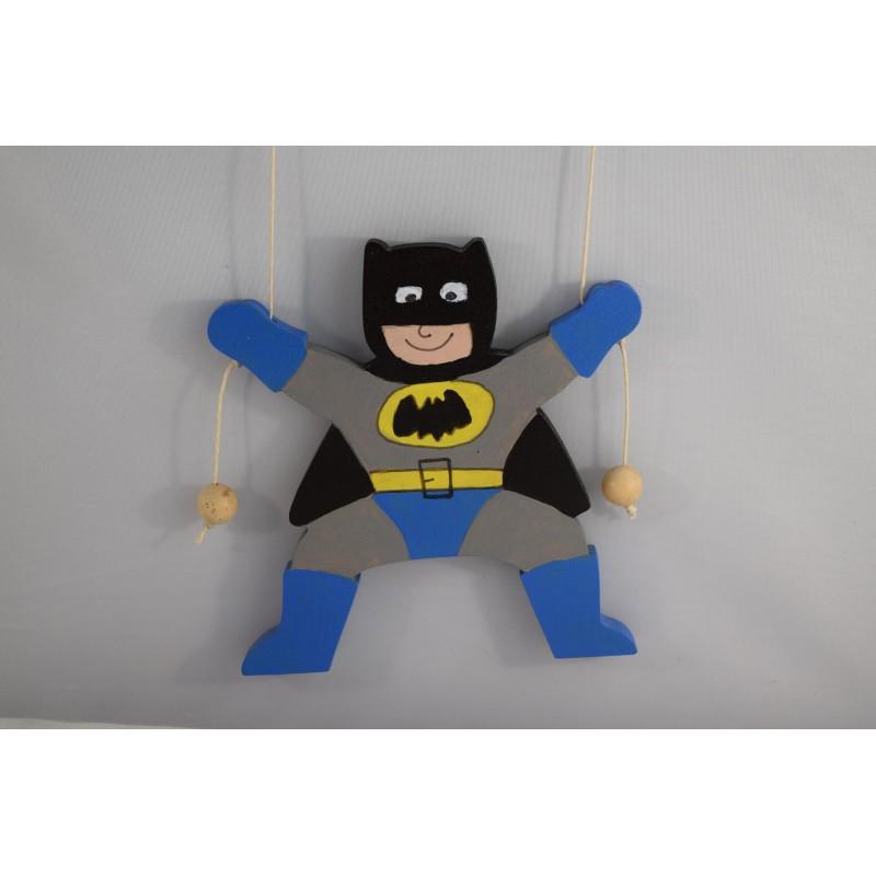 Wooden Climbing Batman
