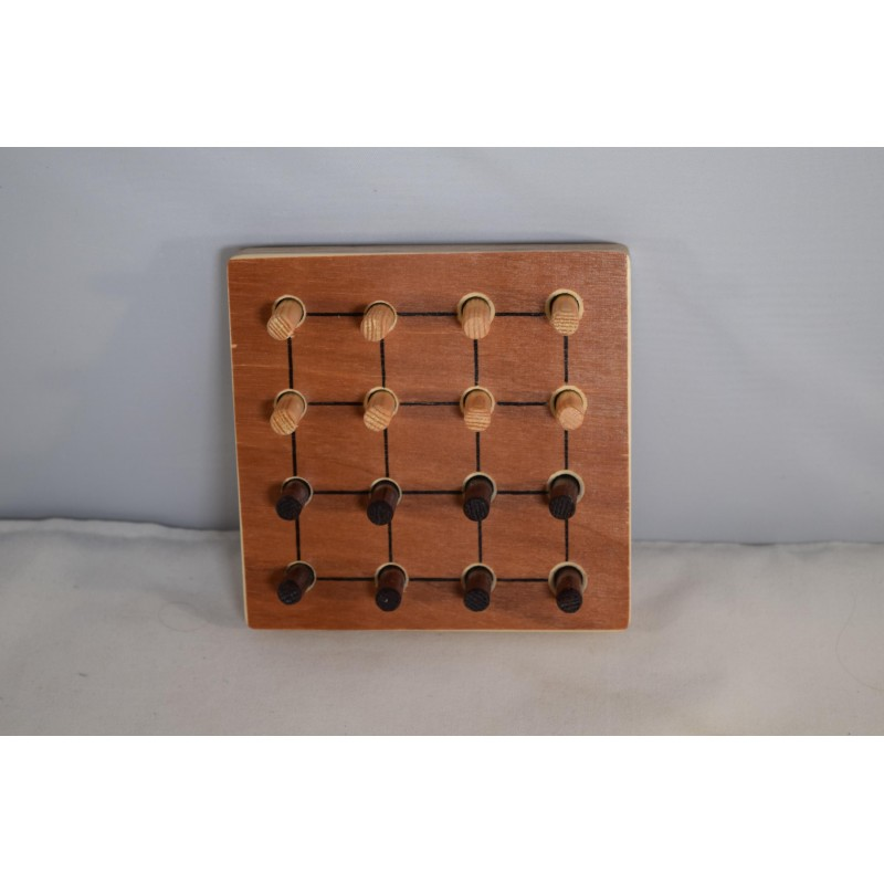 Wooden strategy game Four...