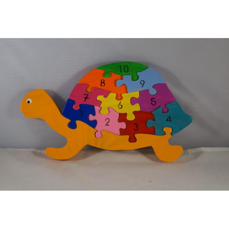 Éducatif Puzzle Tortue