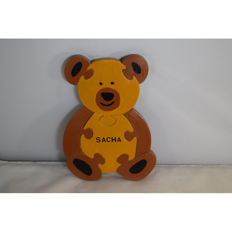Adorable wooden bear puzzle...