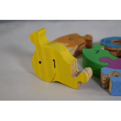 Educational Snail Number Puzzle