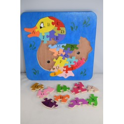 Educational Duck Alphabet Puzzle