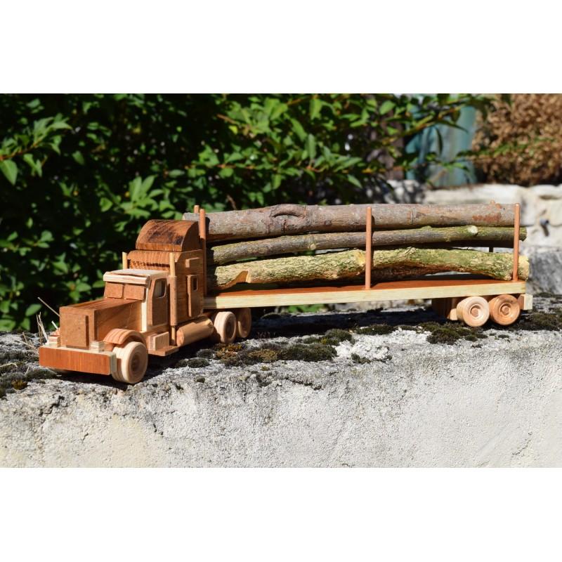Peterbilt Wooden truck and...