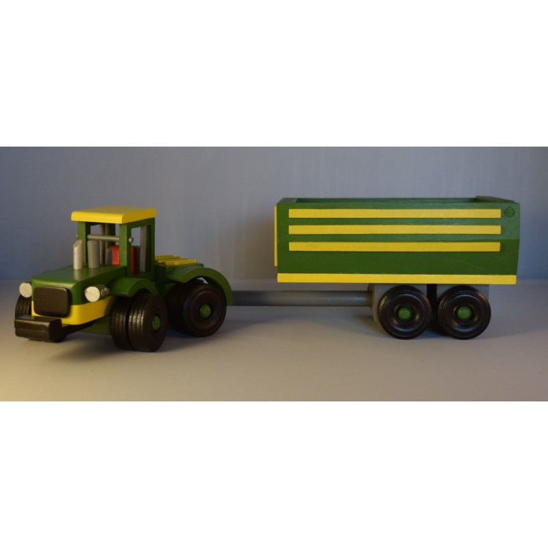 Wooden Farm Tractor and...