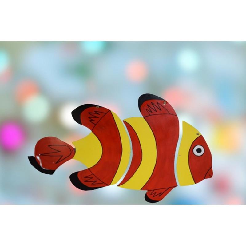 Wooden Goldfish Mobile