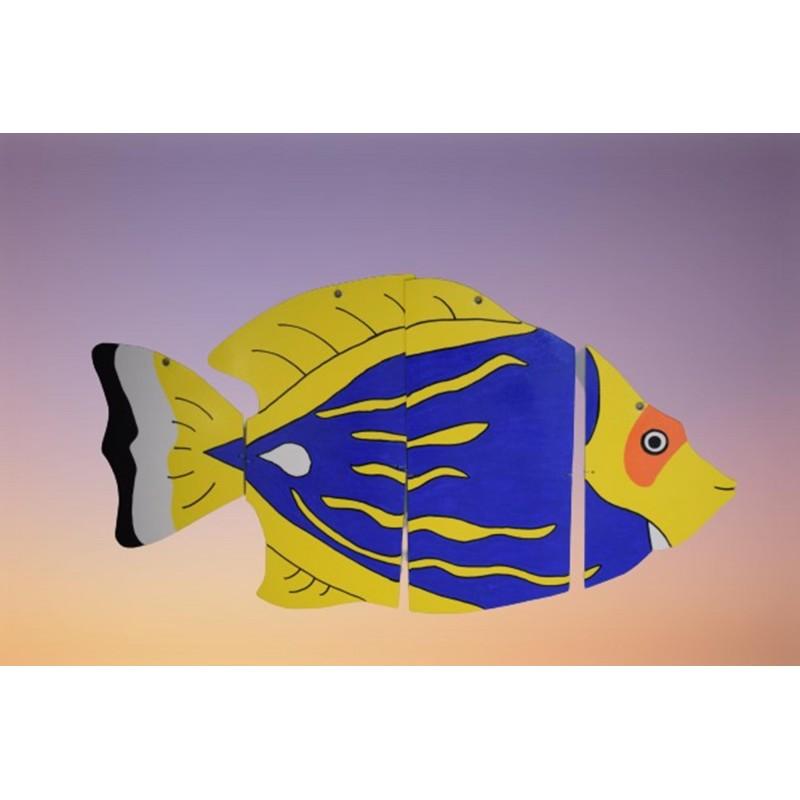 Beautiful Wooden Fish Mobile