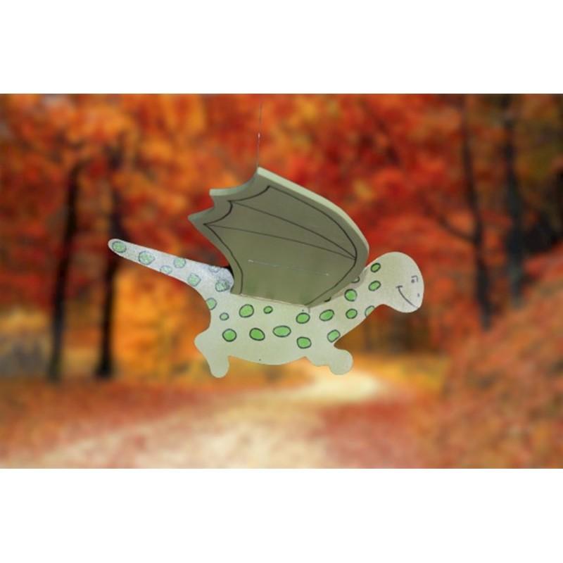 Cute Wooden Flying Dinosaur