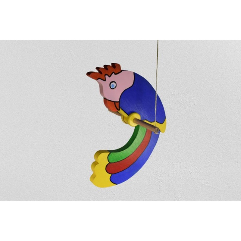 Adorable Swinging Parrot in...