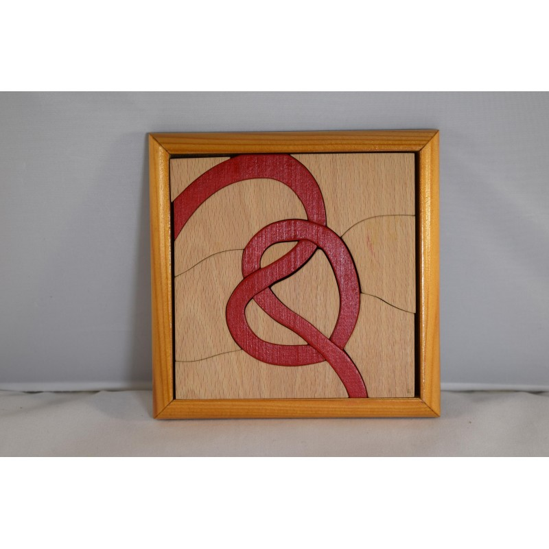 Wooden Puzzle with...