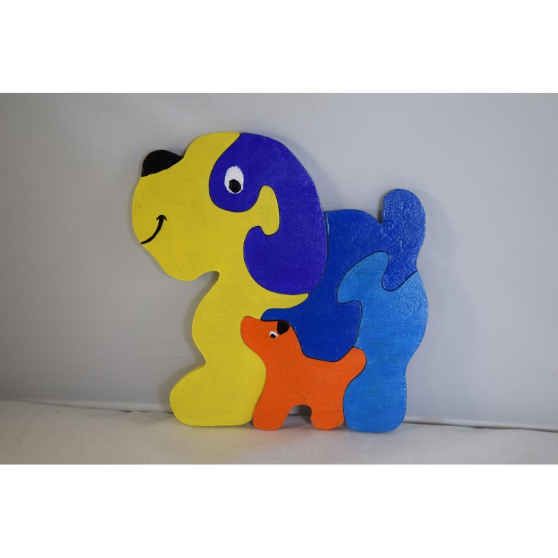 Chunky Wooden Puzzle (Dog...