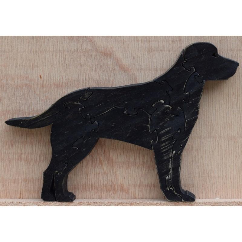 Black Labrador Wooden...