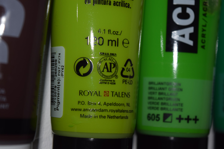 Non toxic paint accreditation