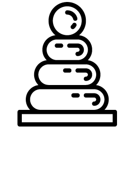 icone d'un cheval à bascule